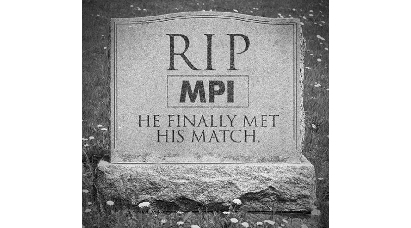 Obituary Notice: Conventional MPIs are Dead