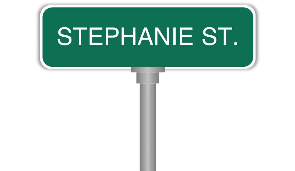 Can you tell me how to get, how to get to Stephanie Street?
