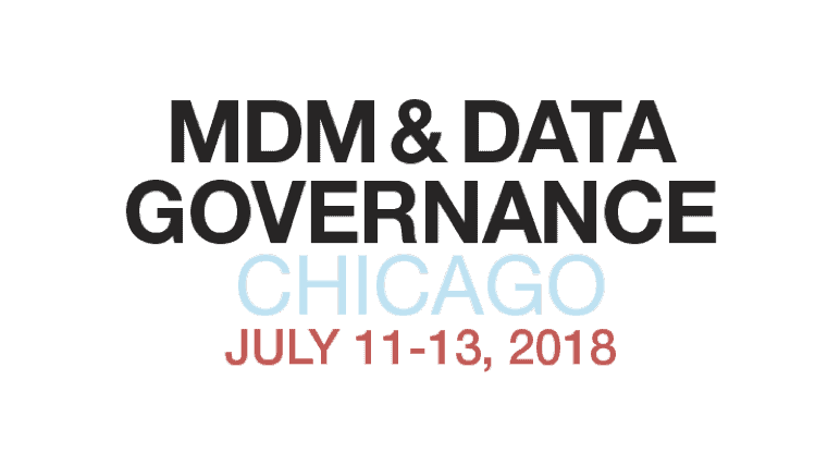 What is the state of MDM? Observations from the MDM & Data Governance Conference